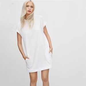 Aritzia Community Motracles Tee Shirt Dress